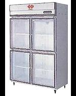 氷感庫リーチインショーケースのIW-G120X-4/F